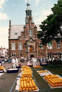 De Kaasmarkt van Purmerend