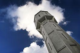 De watertoren van Heemstede bleef gewoon zichzelf