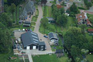Rundveemuseum, luchtfoto, koeien, vee, runderen, kalfjes, Aartswoud, West-Friesland