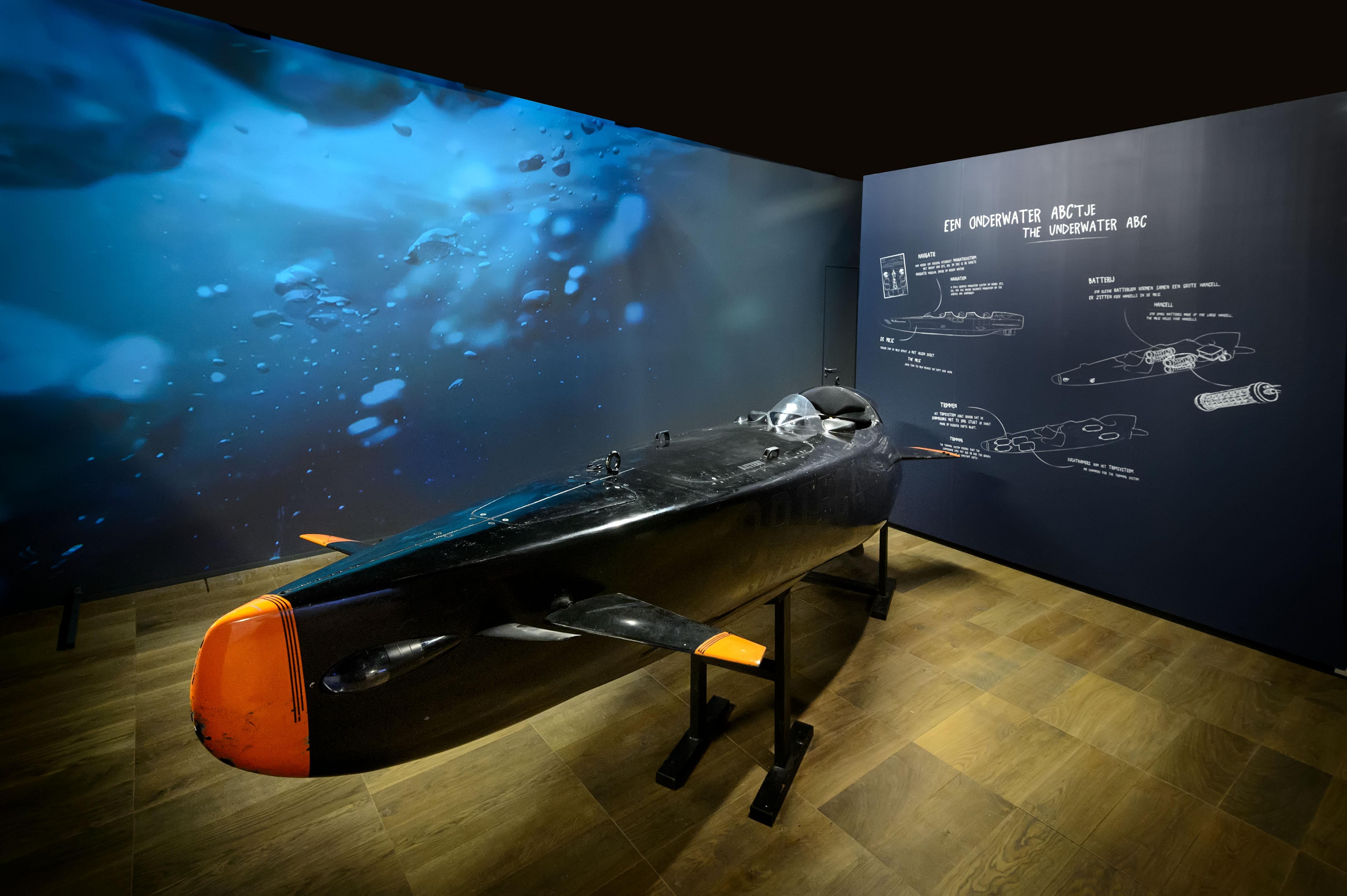 De Ortega Submersible, die in 2016 de Piet de Jong Innovatieprijs won Foto: Het Scheepvaartmuseum Amsterdam