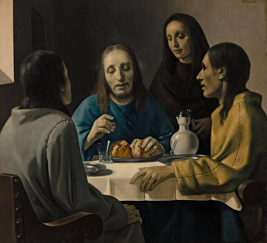 De Emmausgangers, Han van Meegeren, Museum Boijmans van Beuningen