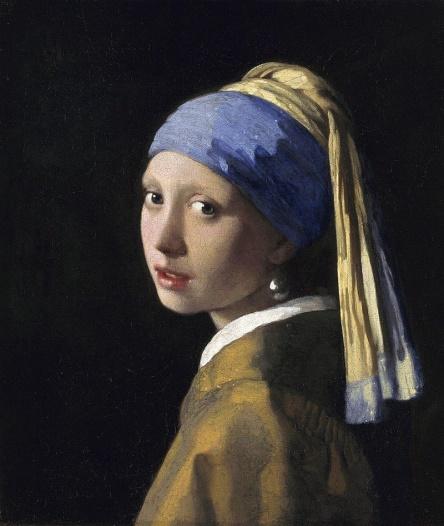 Het meisje met de Parel, Johannes Vermeer, Wikipedia
