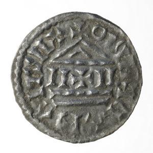 denarius, 9e eeuw, Bakkum, Huis van Hilde