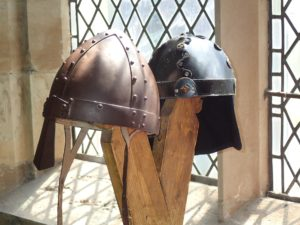 Vikinghelmen zonder hoorns