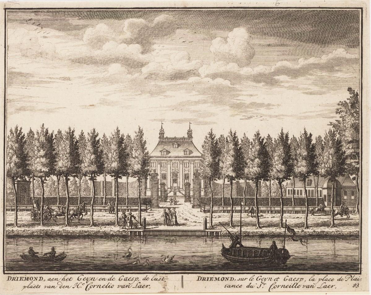 Buitenplaats, Driemont, Driemond, Cornelius van Laer, Noord-Hollands Archief