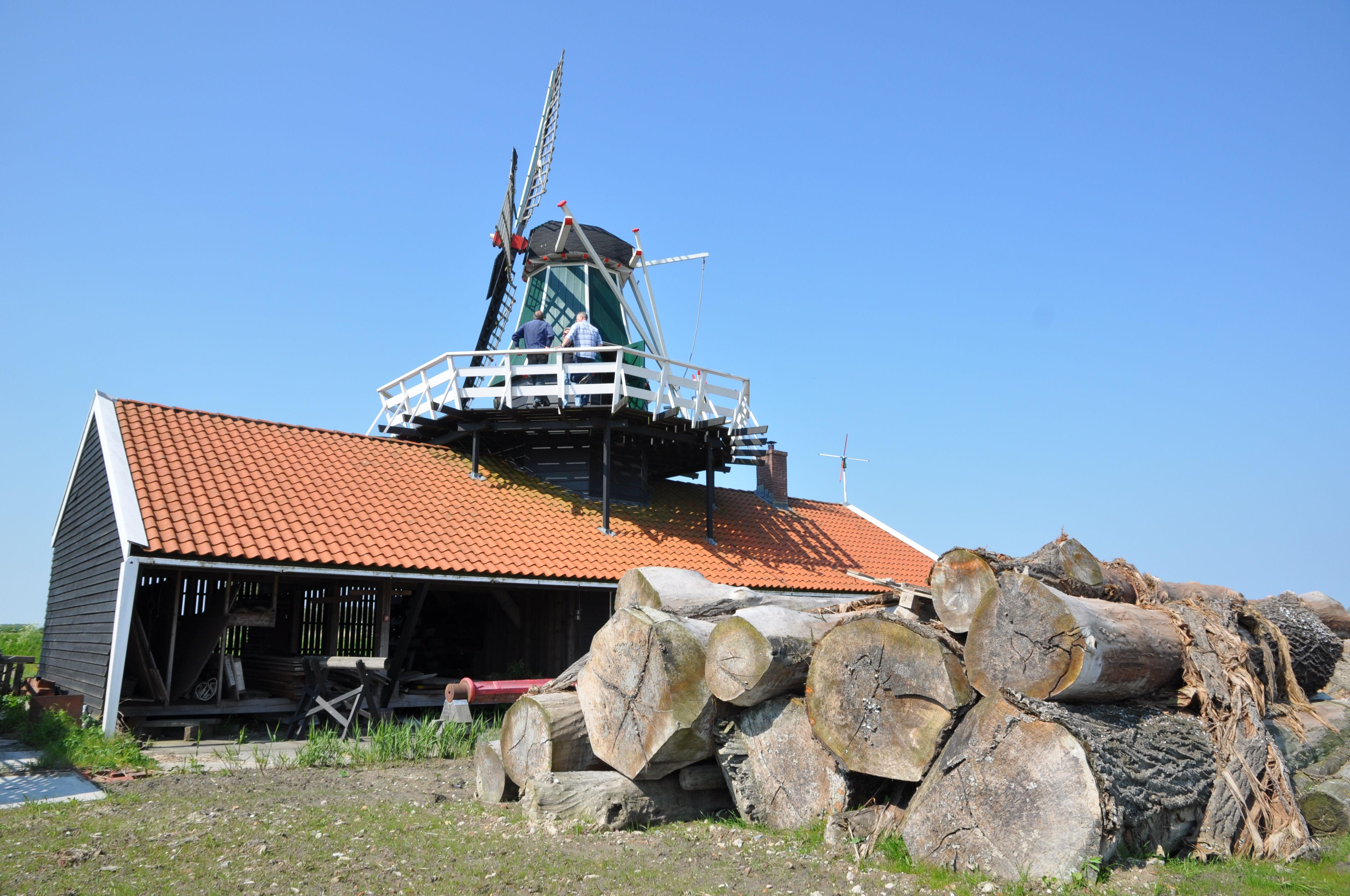 De houtzaagmolen was een uitvinding van Cornelis Corneliszoon