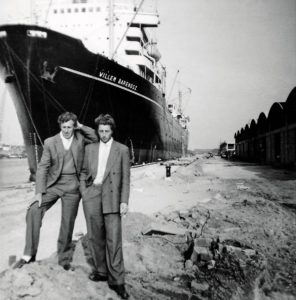 Herinneringen van naoorlogse walvisvaarders