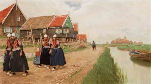 Met Jan Feith langs de Zuiderzee (1933)