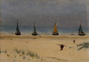 Met Jan Feith aan zee (1933)