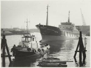 Met Jan Feith door de haven van IJmuiden (1933)