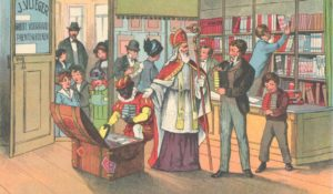 De goedheiligman en de gehoornde: het verhaal van Sint en Piet