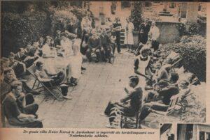 De revalidatie in Villa Kareol was zijn tijd ver vooruit