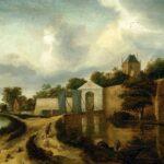 Wist je dat? Bij De Zijlpoort vertrokken de trekschuiten naar Leiden.
