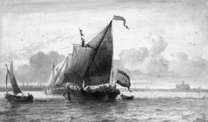 Scheepvaart over het Haarlemmermeer