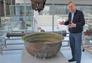 Museum Kaap Skil: Archeoloog Michiel Bartels over het Schervenwrak