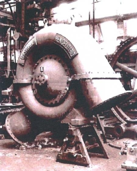 Stork centrifugaalpomp voor gemaal Beetskoog.