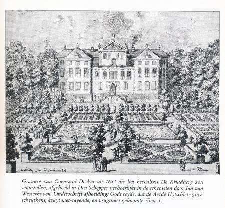 Gravure van Coenraad Decker uit 1684