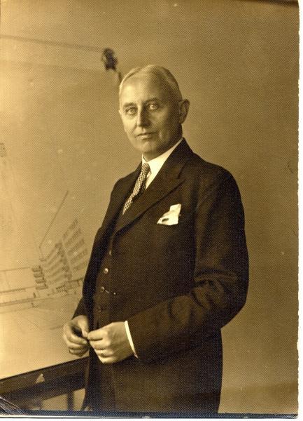 Willem Marinus Dudok, 1930.
