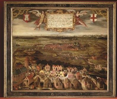 Beleg van Alkmaar in 1573.