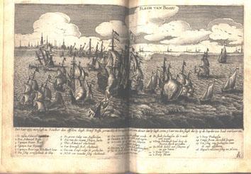 Slag op de Zuiderzee, 1573.