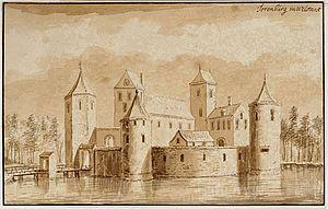 Kasteel de Torenburg van graaf Willem II.
