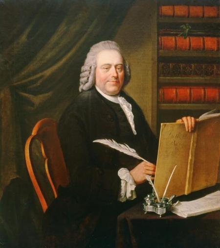 Portret van Pieter Teyler van der Hulst, 1787, door Wybrand Hendriks.