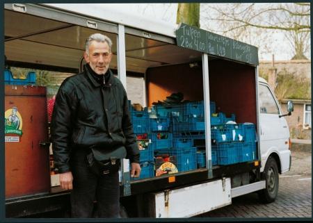 Ad Molenaar, de rijdende groenteman.