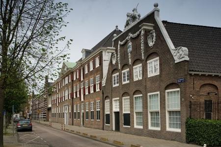 Werkspoormuseum aan de Oostenburgergracht, gevestigd in een oud gebouw van de Admiraliteit van Amsterdam.
