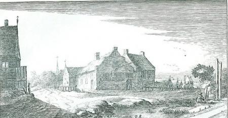 Rechthuis in Ouderkerk.