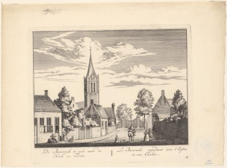 Het nog landelijke Beverwijk in de achttiende eeuw