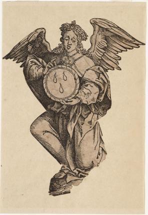 Afbeelding van de zilveren reliekhouder van het Alkmaarse Heilig Bloed, ca. 1550.