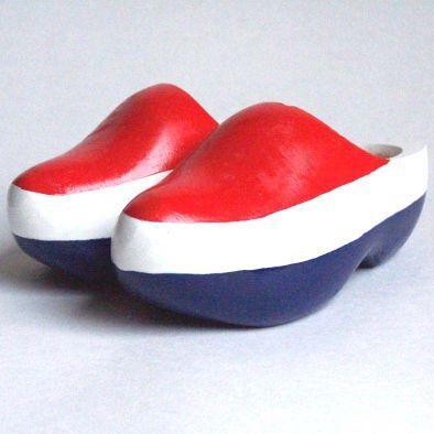 Hollandse klompen.