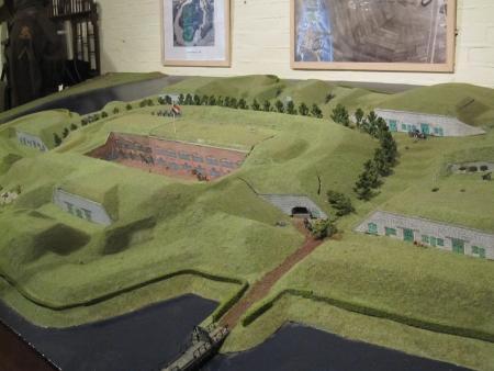 Maquette Fort bij Abcoude