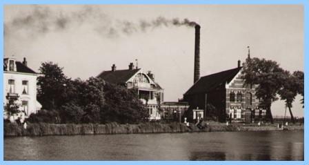 Melkfabriek Hollandia in 1965.
