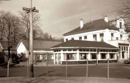 'Toen' Hotel De Rozenboom aan de Brinklaan.
