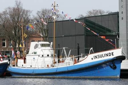 De reddingboot Insulinde.