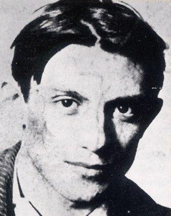 Portret van een jonge Picasso.