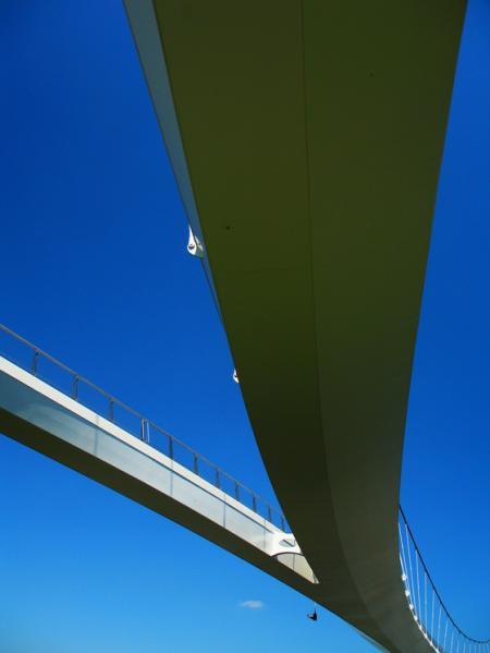 De Nesciobrug naar ontwerp van Jim Eyre