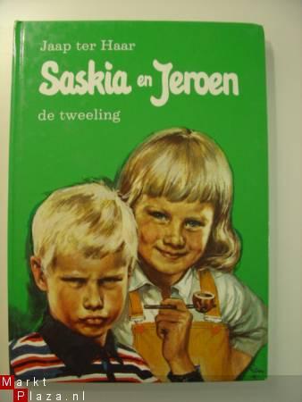 Boekomslag van Saskia en Jeroen, geschreven door Jaap ter Haar.