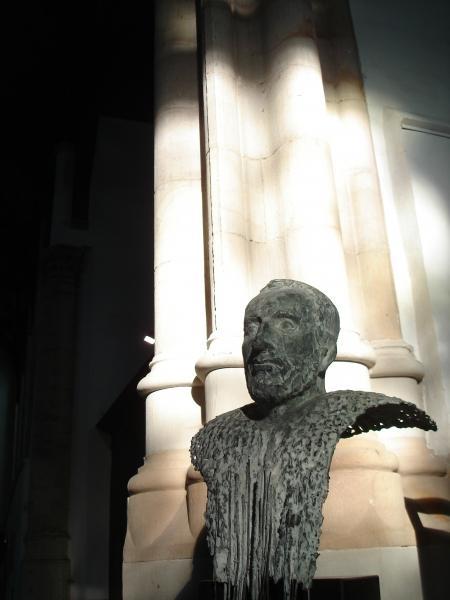 Buste van Sweelinck, door Elisabeth Varga