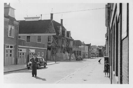 Weeshuis in de Willem Eggertstraat (jaren vijftig).