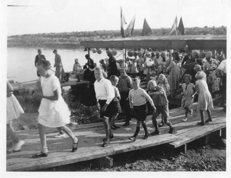 Polderdag Wieringermeer 1935.