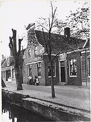 Het Noorderhuis aan de Lagedijk 240 te Zaandijk, omstreeks 1900