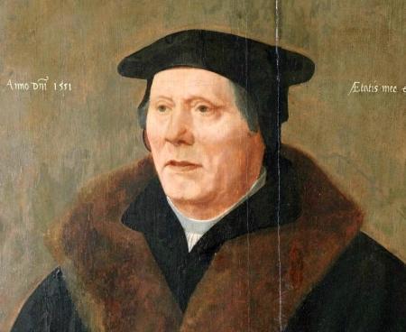 Portret van (waarschijnlijk) Willem Jansz. van de Nijenburg, droogmaker van het Achtermeer.