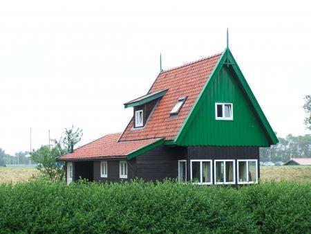 De zweedse noodwoning in Slootdorp