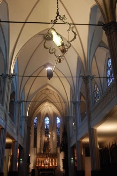 Het interieur van De Papegaai.