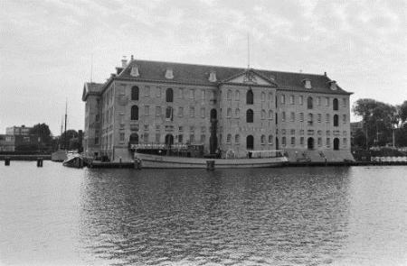 Het Scheepvaartmuseum in 1981. Bron: Gahetna