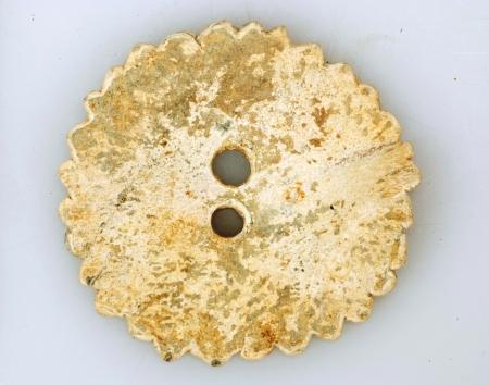Loden snorrebot, 17e-18e eeuw, gevonden te Enkhuizen.