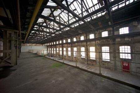 Van Gendthallen op het Oude Werkspoorterrein