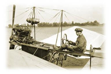 Fokker en zijn Spin.